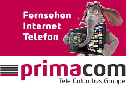 Primacom Fernsehen, Internet, Telefon