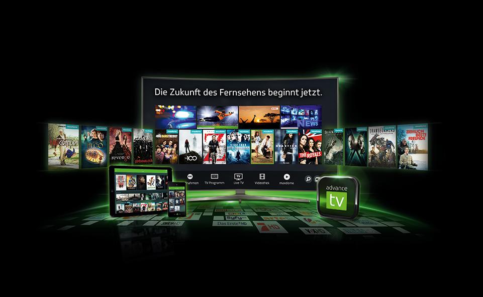 Zukunft des fernsehens beginnt mit advance-TV