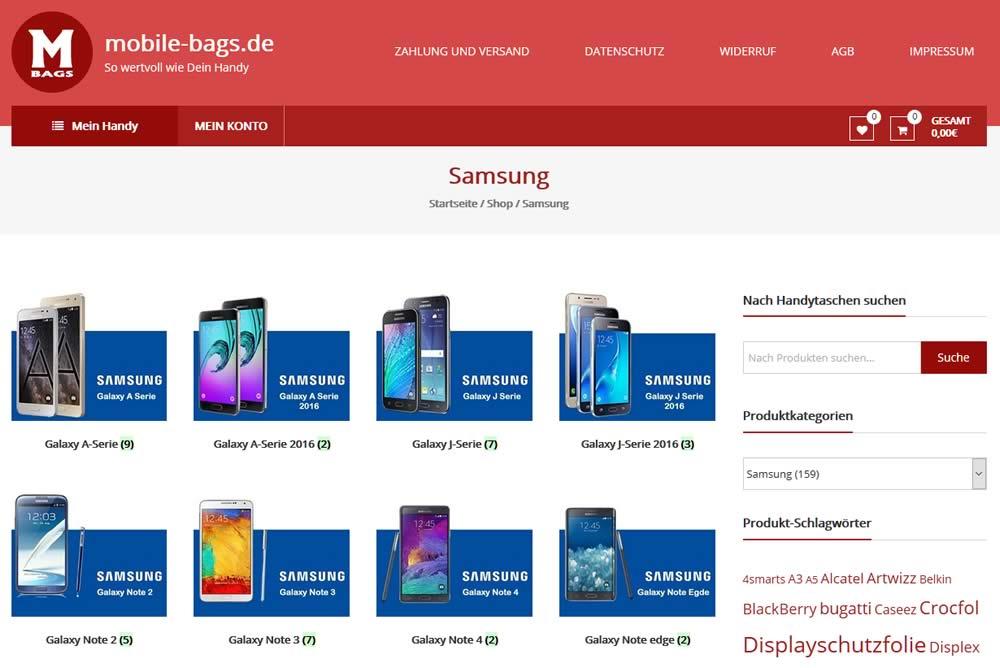 Bilder aus mobile-bags.de