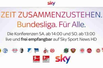 Sky Bundesliga-FreeTV, Corona